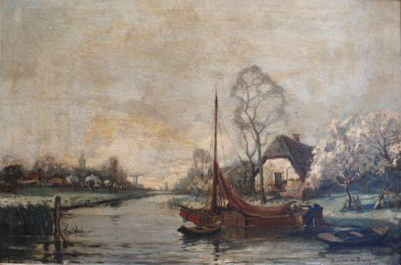 Hollands landschap 60x90 (47K)